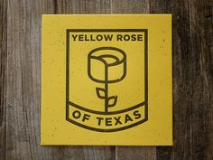 Logo(Yellow Rose by Trent Walton, via trendgraphy) #logo