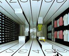 architecture / Loja Desporto Viseu | 2007 www.artspazios.pt #architecture #artspazios #rendering