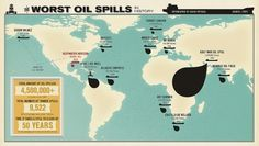 Infographic-The-Worst-Oil-Spills-In-History1.jpg (1024×581) #infographic