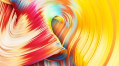 Paintwaves wave paint 3d art color colorful splash green yellow red violet mindsparkle mag experiment