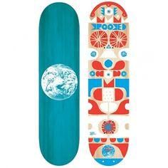 Graphic / Cody Hudson skateboard design