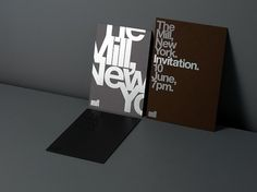 Invitation by Made Thought #print #design #graphic