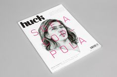 Huck Magazine by She Was Only