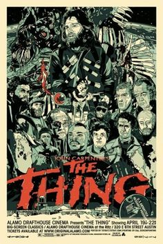 Sci-Fi-O-Rama / Science Fiction / Fantasy / Art / Design / Illustration #movie #thing #the #vintage #poster