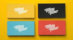 "Am I Collective  |  http://amicollective.com""Tommy Tucker are a music production studio specializing in original compositions, sound #logo #branding #stationery"