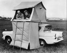 urbanorama:I want it. via Green Renaissance #retro #car #camping