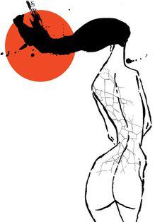RAYOS UVA #del #illustration #spain #hambre
