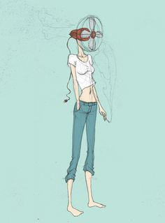 Darren Cools illustration #fan #illustration #girl