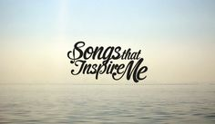 SONGS THAT INSPIRE ME #logotype #branding #design #graphic #brand #logo