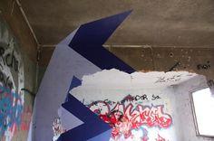 Infinity Triangle - F C H i C H K 'L #donut #infinity #triangle #art #street #paper
