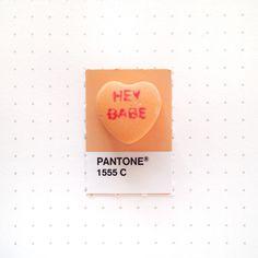 Tiny PMS Match | PICDIT #design #orange #color #pantone #art #colour