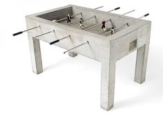 I HAVE POP (tm) - communication / design / special projects #concrete #table #fussbal