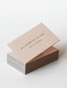Another Beautiful and Inspiring Business Card. Discover More Cool Business Cards on Our Board!!! #branding