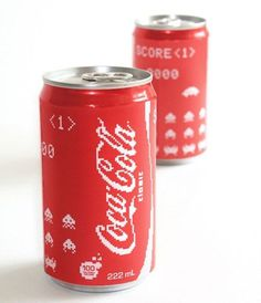 FFFFOUND! | Coca Cola Space Invader Edition » Geeky Gadgets #coca #cola
