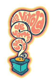 """La Vitrola de Sam"" by Molly Yllom #illustration #character #design"