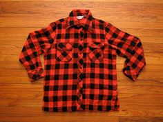 mens vintage Wrangler buffalo plaid shirt by countylinegeneral #flannel #shirt