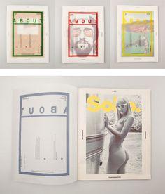 GM. #design #graphic #layout #editorial #magazine
