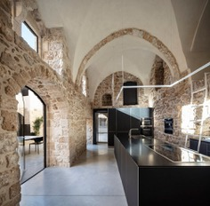 Jaffa Apartment, a Collection of 300-year-old Spaces Built Around a Central Patio