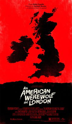 An American Werewolf in London OLLY MOSS DOT COM #poster #retro #movie
