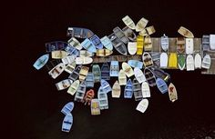 FFFFOUND! | Aerial Photography | Fubiz™ #boats