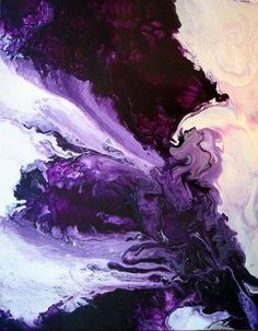 Original 24x30 Abstract Art Painting by JenniferFlanniganart, $150.00