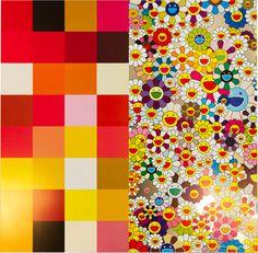 Takashi Murakami Acupuncture/Flowers, 2008