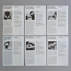 Braun product pamphlet set 1-6 ca 1960 via www.dasprogramm.org