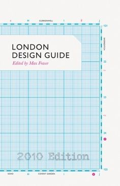 The Book Cover Archive: London Design Guide, design by Alistair Hall