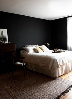 4_BPASCUA #interior #white #design #bedroom #& #black #decoration