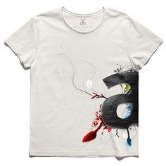 #aneo #offwhite #tee #tshirt #barbarakingsolver #letter #tree #wood #mixmedia #white