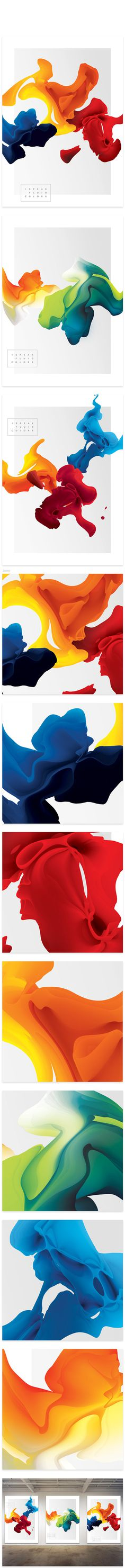 #colors #red #blue #yellow #colorful #blend #walls #art