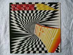 Technotronic TECHNOTRONIC Megamix 12 1990 Album Cover #music #cover