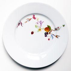CERAMIC GOES GREEN __Vitra : Sam Baron: #plate #illustration