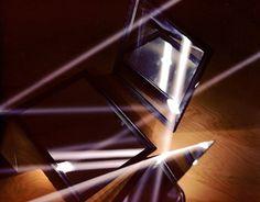Light reflecting off three mirrors #photography #light