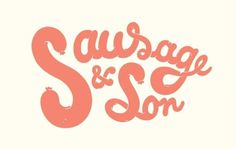 http://pinterest.com/pin/34199278390178129/ #sausageson #logo #eat #food