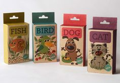 Fish, Bird, Dog & Cat #treats #animal
