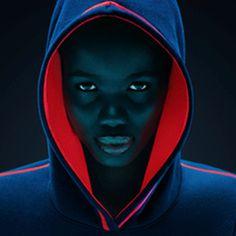 Neon Fashion Photography