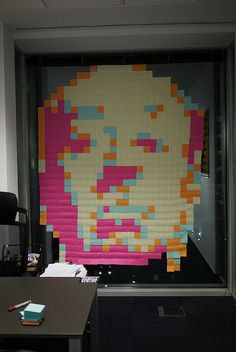 Alfred Hitchcock post it #post #office #night #it #window #borring #work