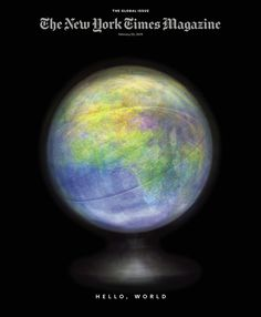 Behind the Relaunch of The New York Times Magazine - NYTimes.com #editorial #photography #globe #glow
