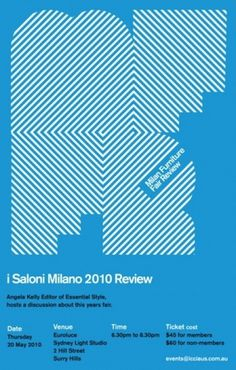 Saloni Milano 2010 Review Poster / Flyer #flyer #poster #invitation