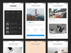 PerfectKit : Free Desktop and Mobile UI Kit