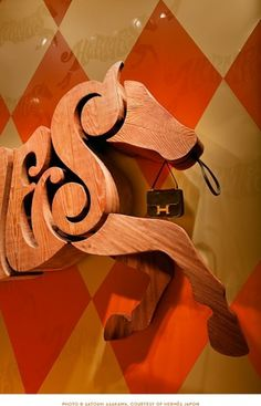 House Industries - Blog #logo #horse #wood #typography