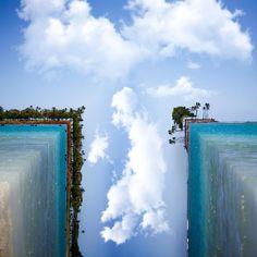 photography, cubic landscape