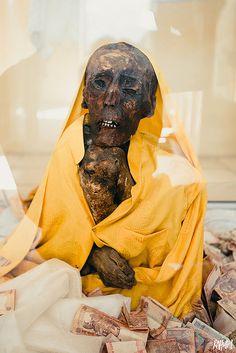 Mummy at Giu Village, Spiti Valley, India #photography #rahullal #rahullalphotography #mummy #buddhistmummy #GiuVillage #SpitiValley
