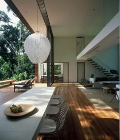 WANKEN - The Blog of Shelby White » House in Iporanga Sao Paulo #interior #house #design #brazilian #architecture