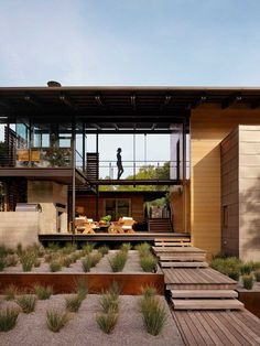 Modern architecture with a strong connection to nature The Hog Pen Creek Residence - www.homeworlddesign. com (2) #architecture #house #inte