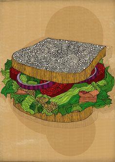 Tumblr #illustration #food #art