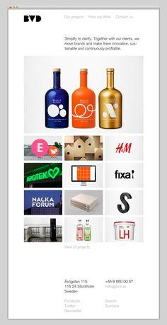 BVD #layout #website #web #web design