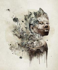 Erínye - Photoshop - Creattica #slashtree #illustration #photoshop