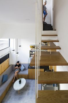 Narrow Vertical Home Maximizes Light and Space in Ho Chi Minh City, Vietnam 5
